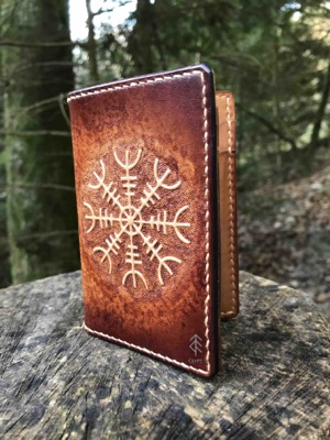 porte-cartes aegishjalmur cuir