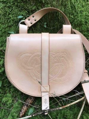 sac dragon cuir