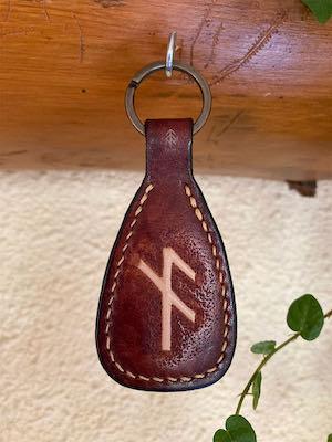 porte-clés cuir